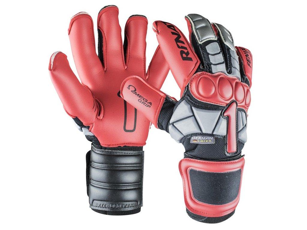 brankarske rukavice rinat Fenix NRG PRO cervena cerna
