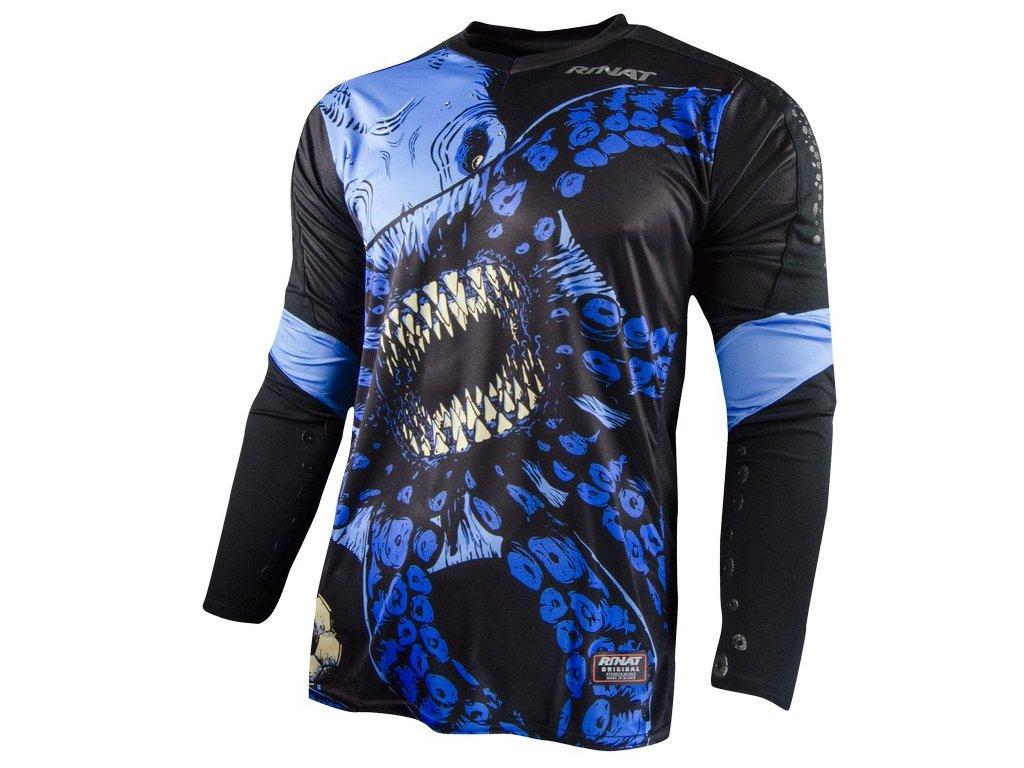 brankarsky dres rinat Kraken modra
