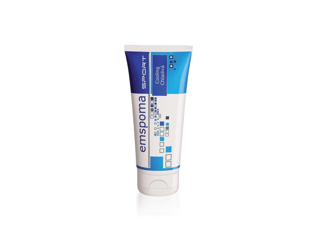 Masážní emulze Emspoma speciál modrá 200 ml