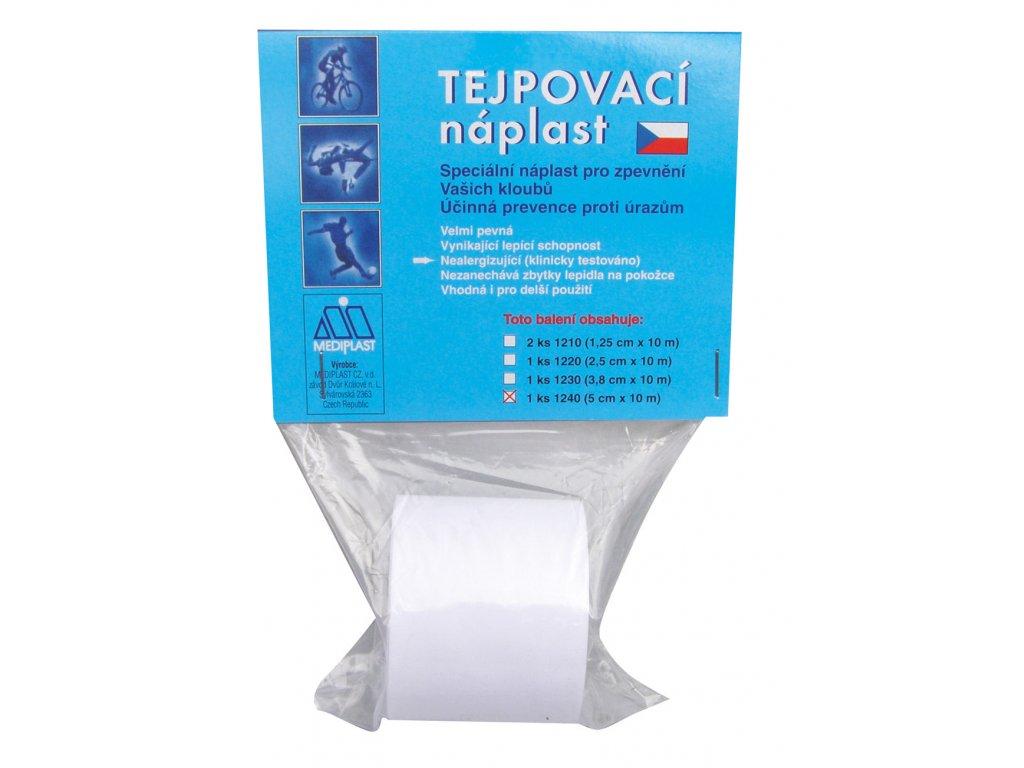 Tejpovací náplast Mediplast 5cm x 10m 1ks 1240XT 1