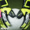 Brankářské rukavice Rinat Asimetrik 2.0 PRO žlutá/černá 5
