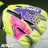 Brankářské rukavice Rinat Asimetrik 2.0 PRO žlutá/růžová 4