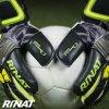 Brankářské rukavice Rinat SUPREME PRO 2.0 černá/žlutá 5