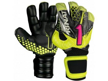Brankářské rukavice Rinat Asimetrik 2.0 PRO žlutá/černá 1