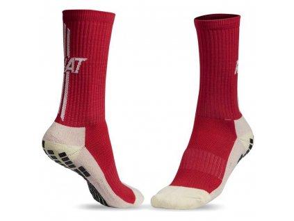 rinat anti slip protiskluzove ponozky červené