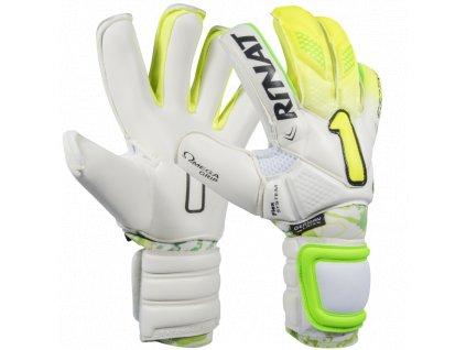 Profesionální brankářské rukavice Rinat Egotiko PRO 2.0 bílá 1