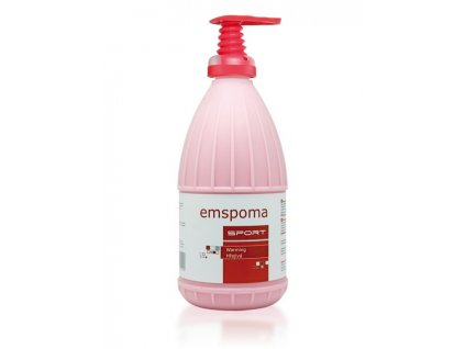 Masážní emulze Emspoma speciál růžová 1000 ml