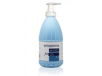 Masážní emulze Emspoma speciál modrá 1000 ml