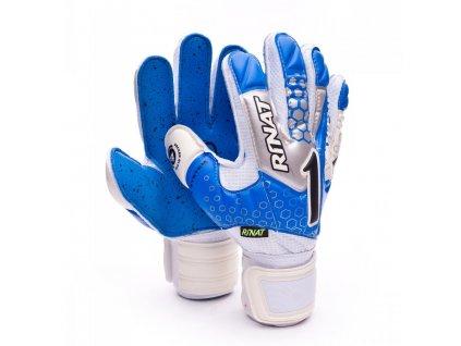 guante rinat asimetrik 2.0 semi turf azul gris 0