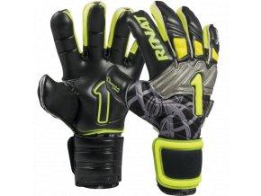 Brankářské rukavice Rinat SUPREME PRO 2.0 černá/žlutá 1