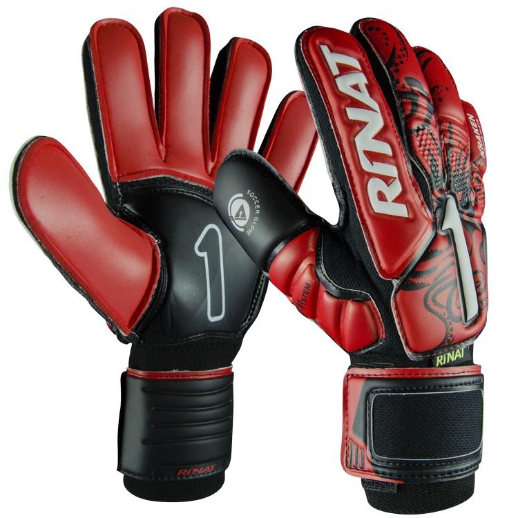 Rinat Kraken NRG Semi červená/černá Velikost rukavic: 10