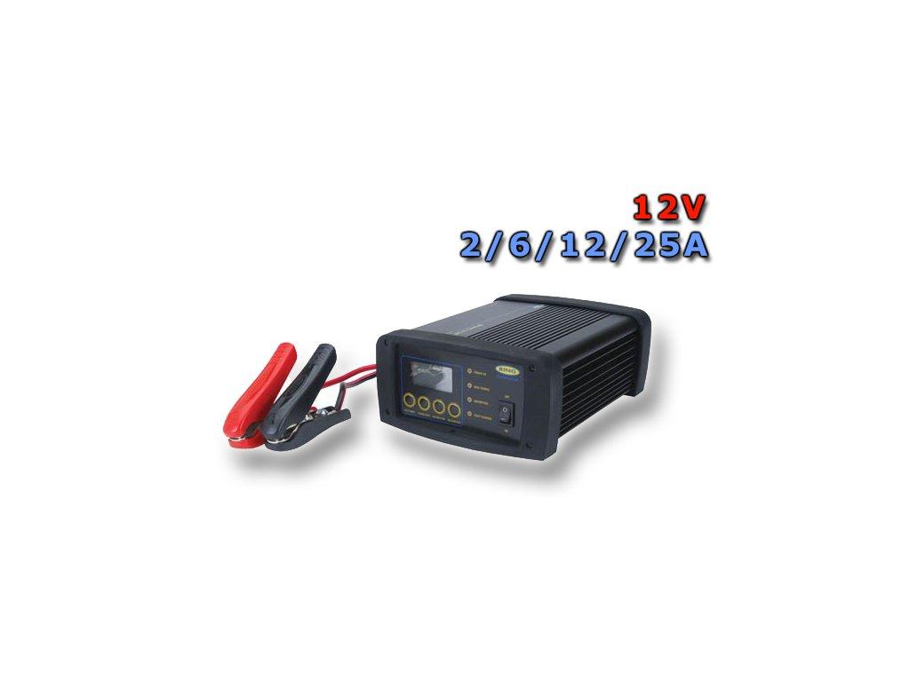 RING Nabíječka RSCPR25, 12V 2 - 25A
