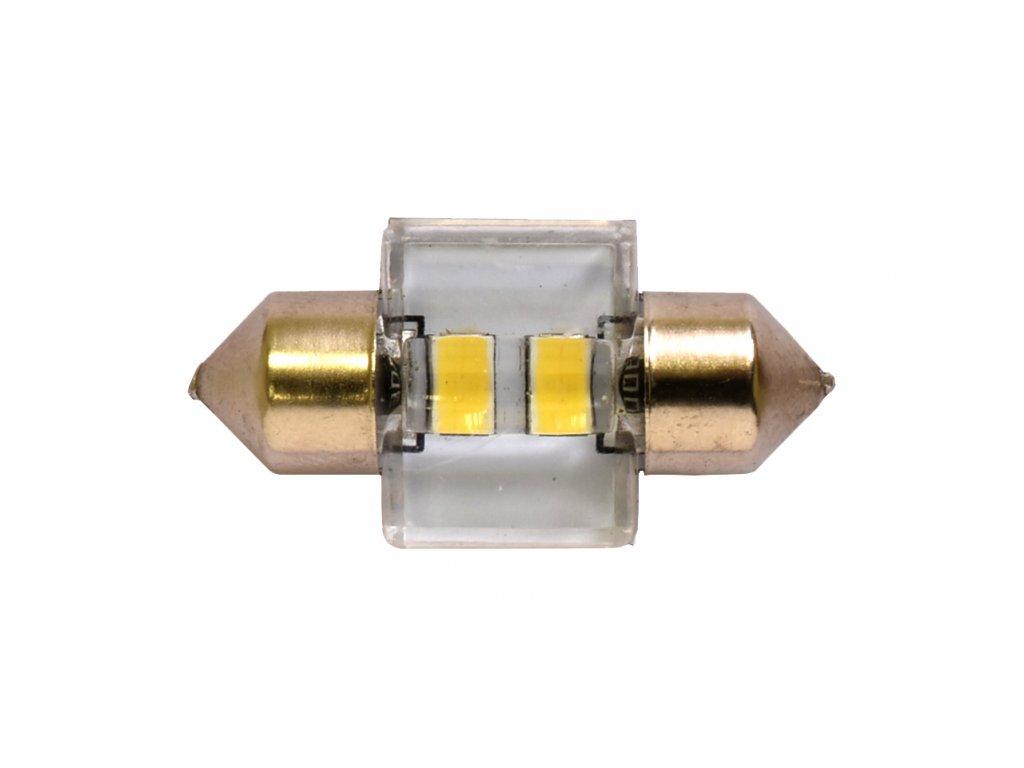 RING LED C5W 6000K 2ks, Studená bílá LED(30mm)