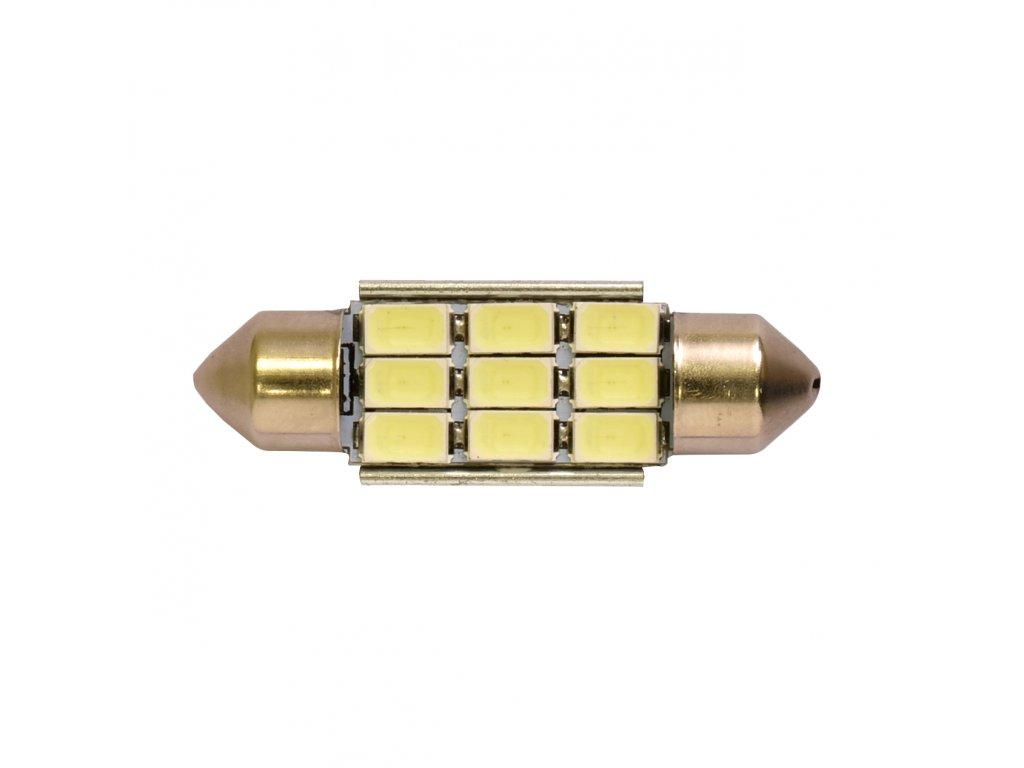RING LED C5W 6000K 2ks, Studená bílá LED(36mm)