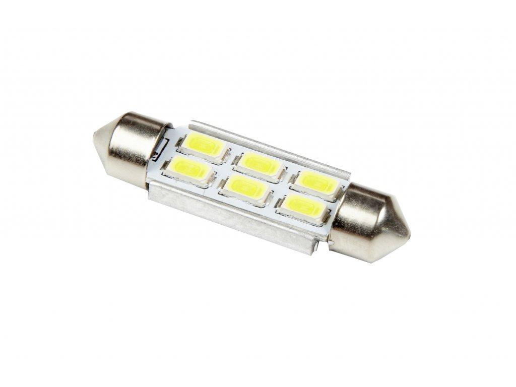 RING LED C5W 6000K 2ks, Studená bílá LED(41mm)