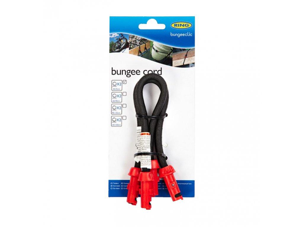 RING Napínací lano BungeeClic 30cm 2ks