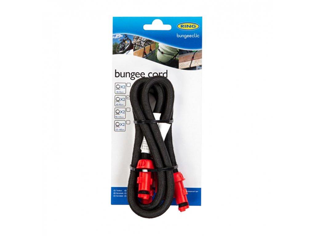 RING Napínací lano BungeeClic 60cm 2ks