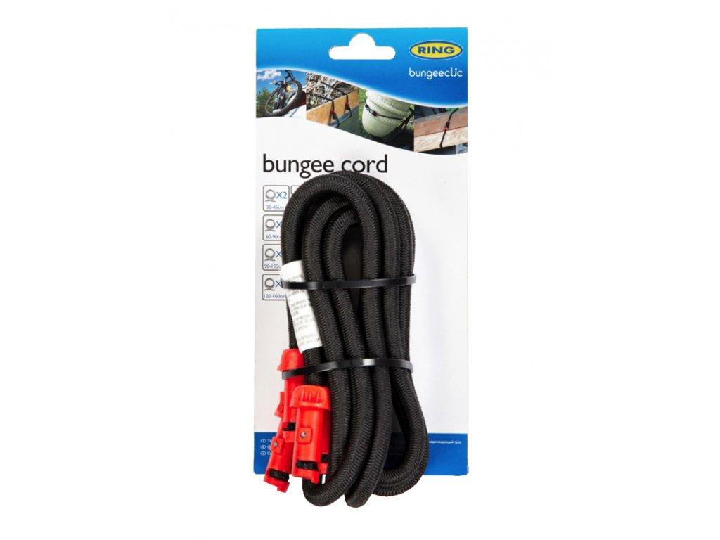 RING Napínací lano BungeeClic 90cm 2ks