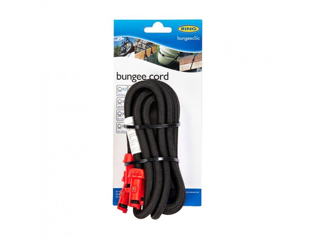 RING Napínací lano BungeeClic 120cm 2ks