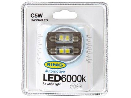 RING LED C5W 6000K 2ks