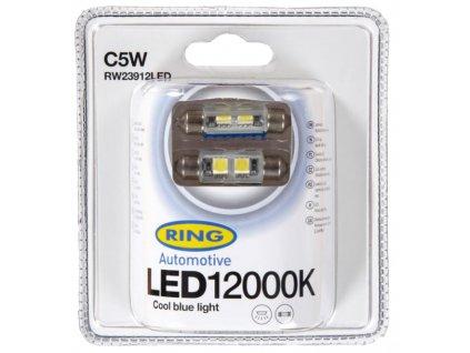 RING LED C5W 12000K 2ks