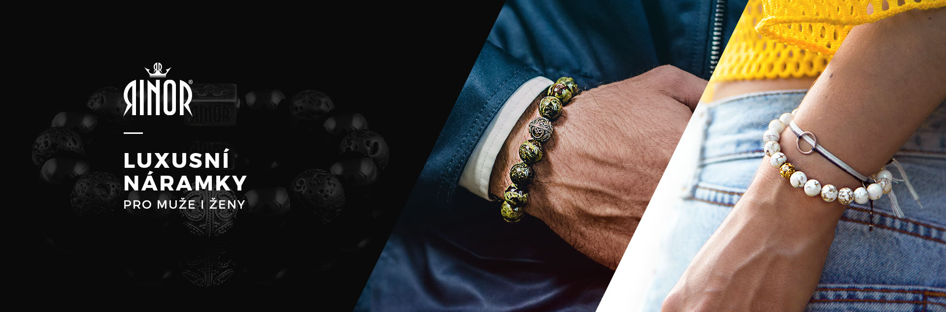 Rinor - luxusní pánské a dámské náramky