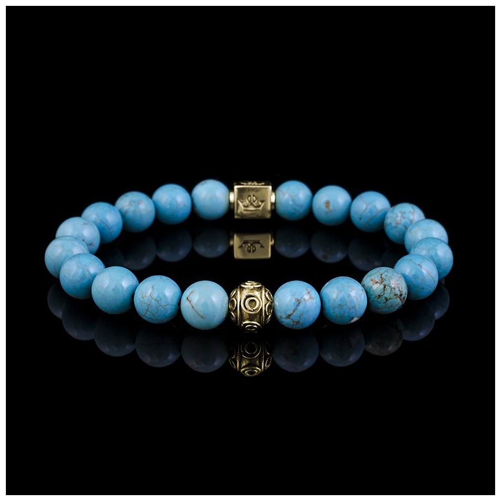 Woman turquoise blue magnesite (2)