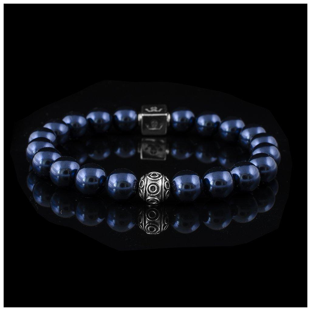 Swarovski bleu silver