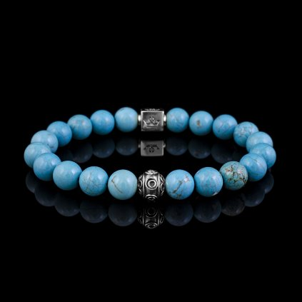 Woman turquoise blue magnesite (1)