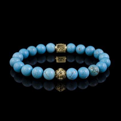 Woman turquoise blue magnesite (2)