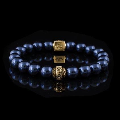 Swarovski bleu gold