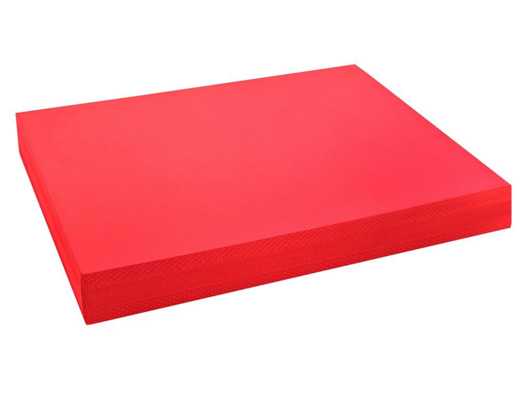 Pěnová balanční podložka - červená