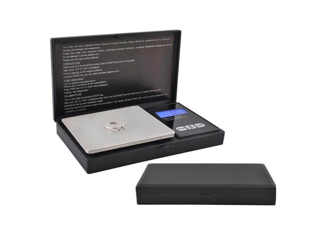 Kapesní digitální váha Professional 500/0,1g