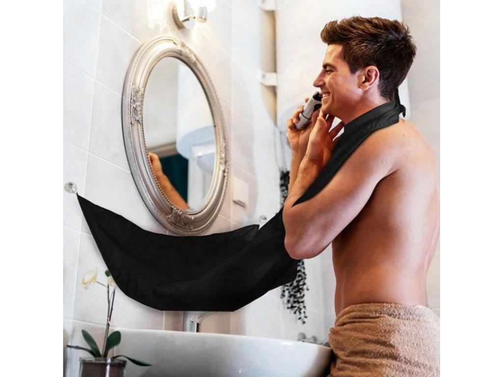 Zástěra na holení vousů