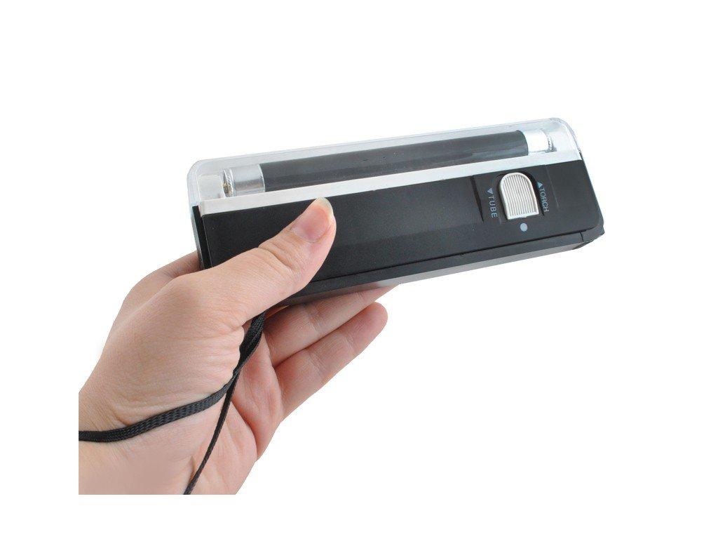 Přenosný UV detektor padělků