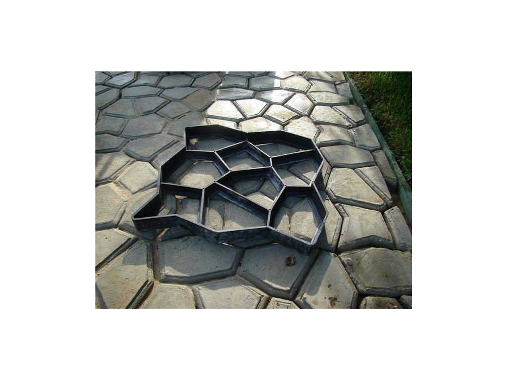 Verk 11250 Forma na betonové chodníky 50 x 50 cm