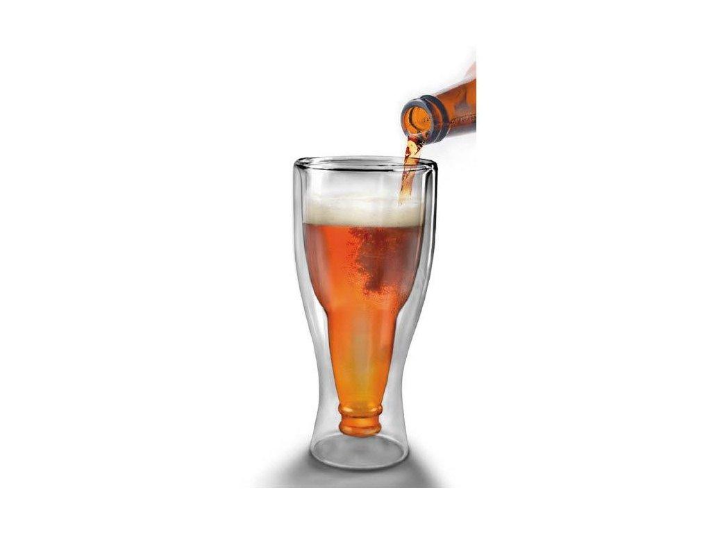 Sklenice ve tvaru piva