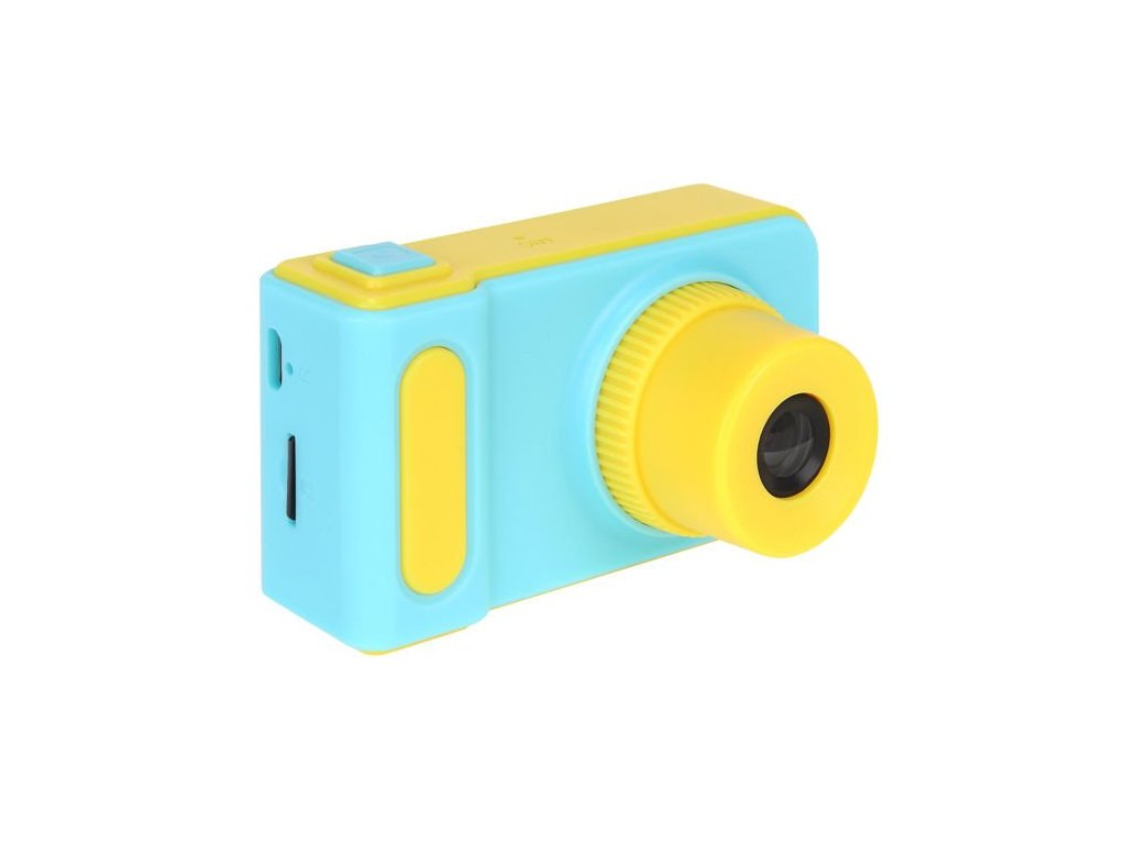 Dětský mini fotoaparát s kamerou na SD kartu - modrá