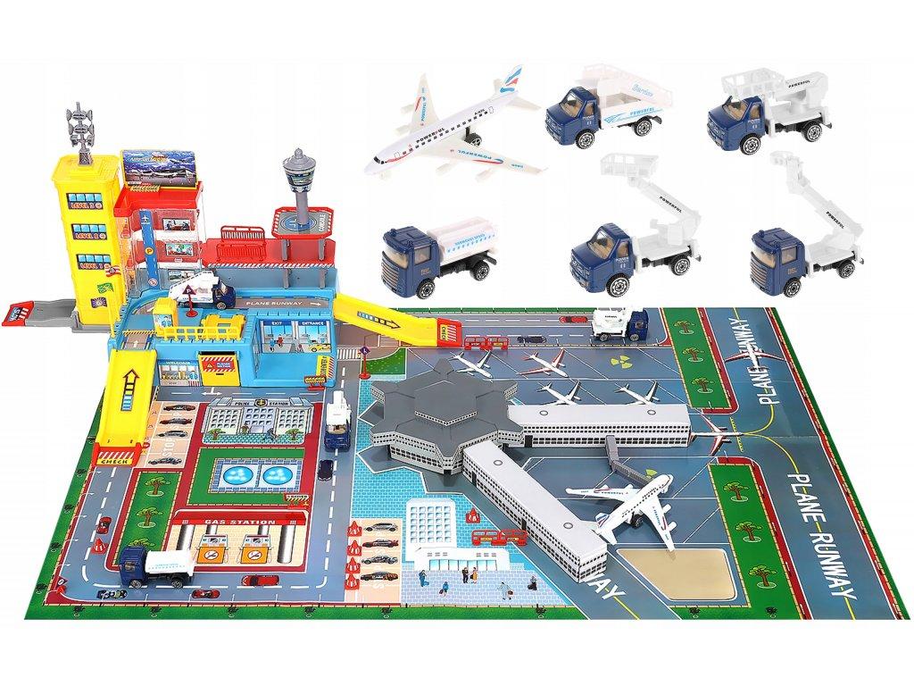 Dětské letiště s odbavovacím setem