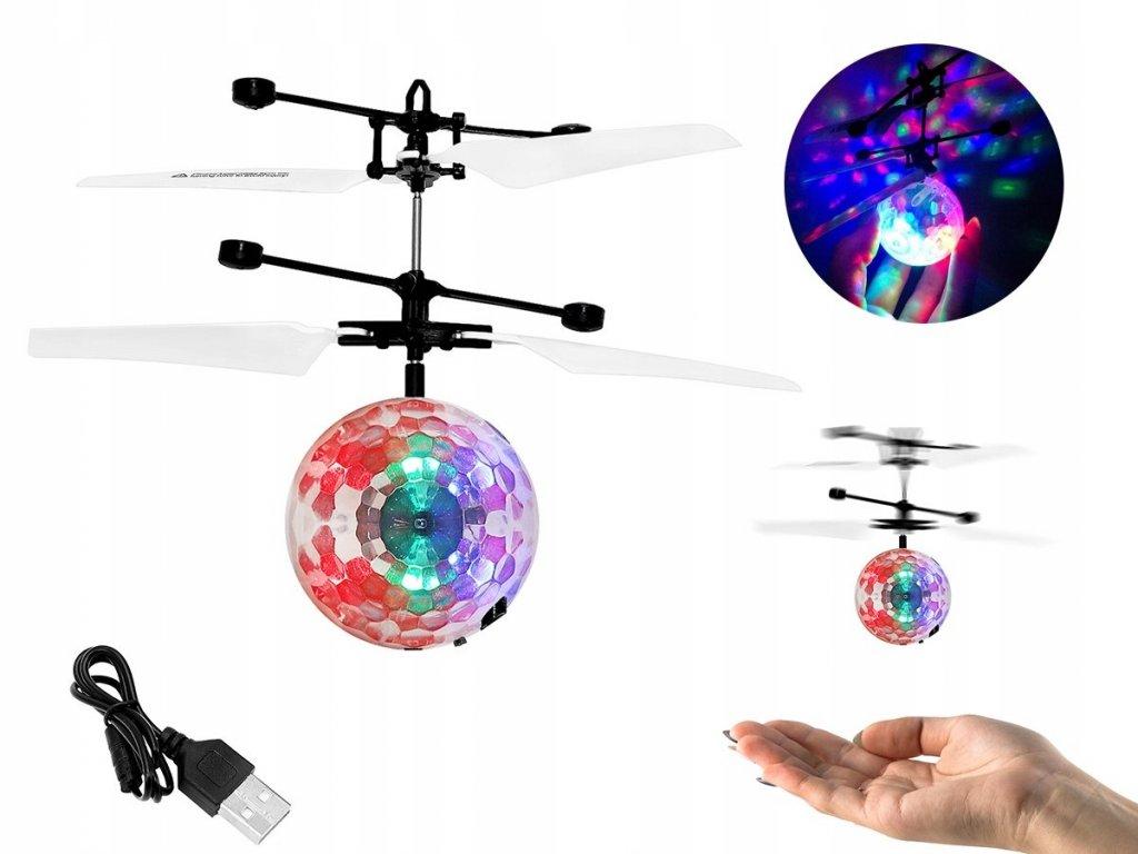 Létající RC Disco koule vrtulník