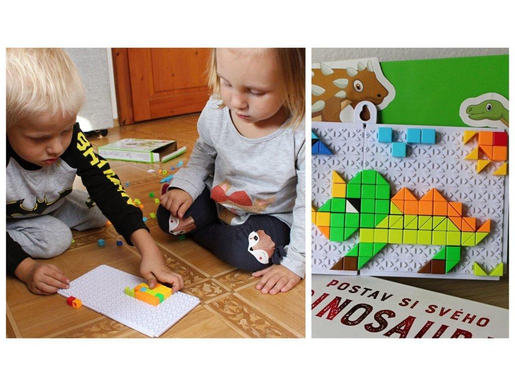 Mozaiková stavebnice - dinosauři