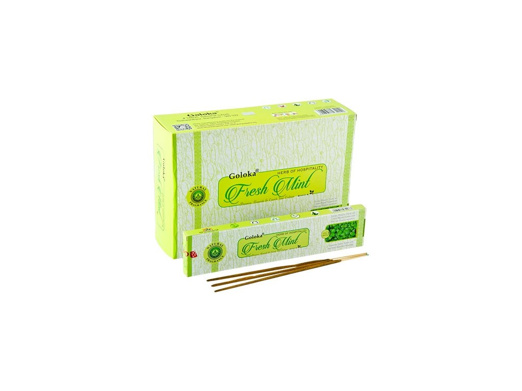 Vonné tyčinky Goloka - Fresh mint