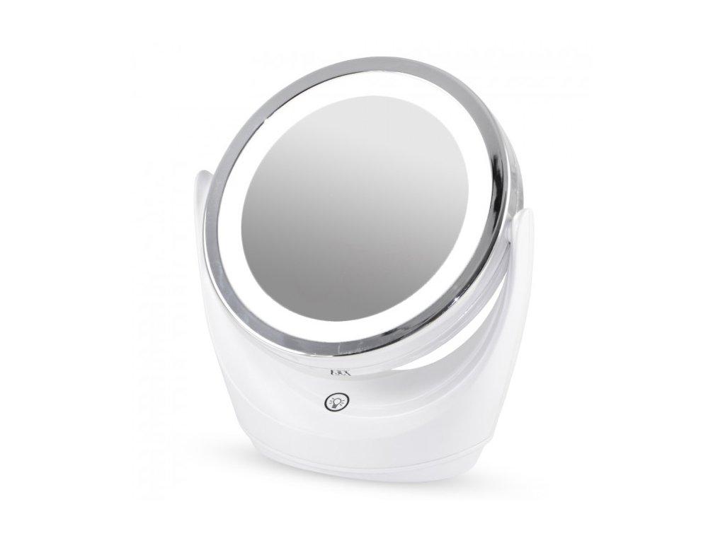 Zvětšovací zrcátko s LED osvětlením, 5x, oboustranné