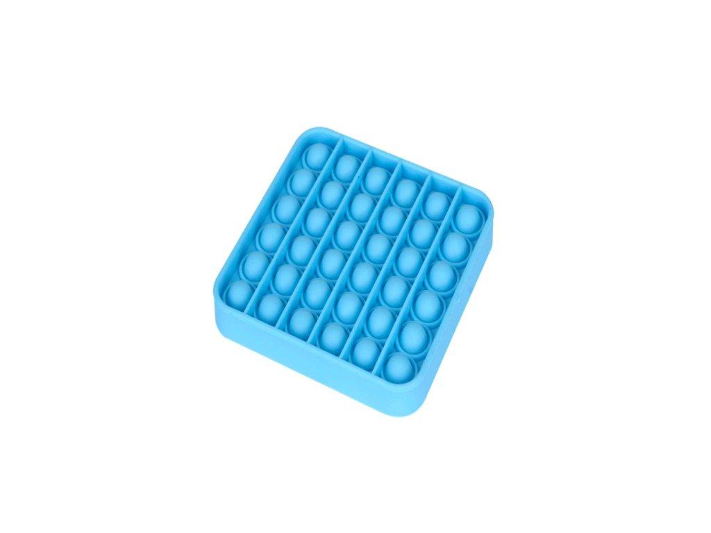 Push game Antistresová hra - čtverec modrý