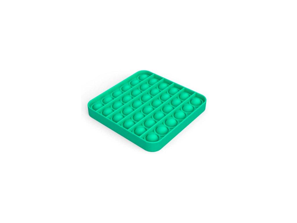 Push game Antistresová hra - čtverec zelený