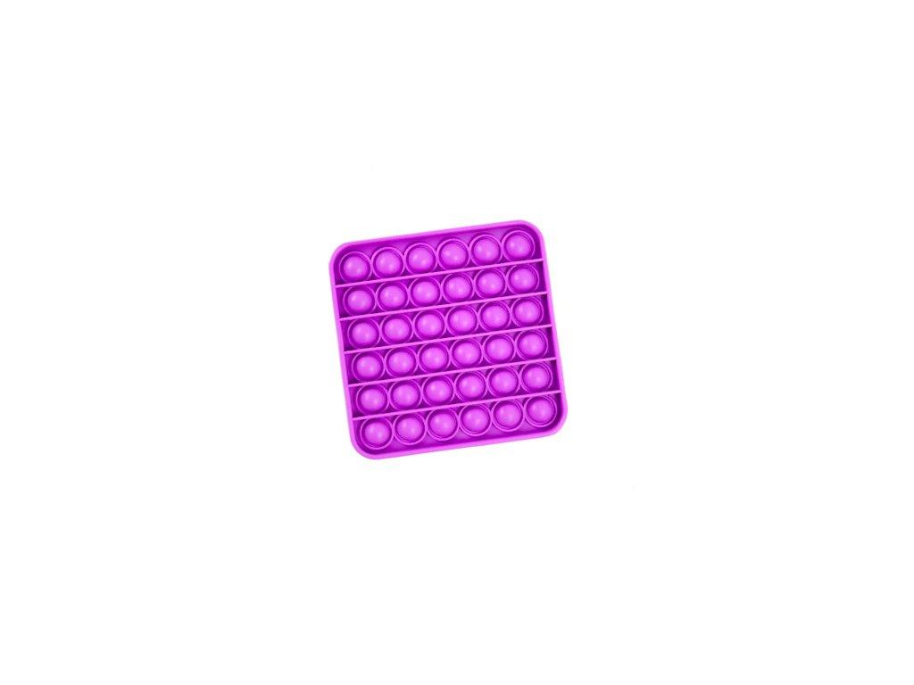 Push game Antistresová hra - čtverec fialový