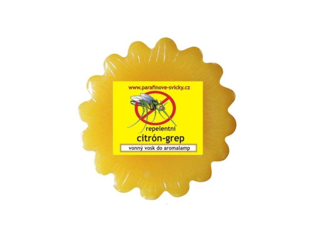 Vonný vosk repelentní CITRÓN-GREP