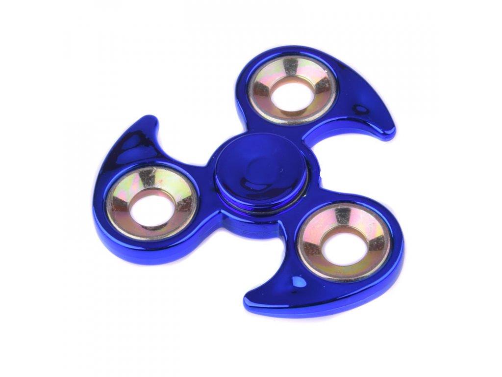 Fidget Spinner Hvězdice kov modrá