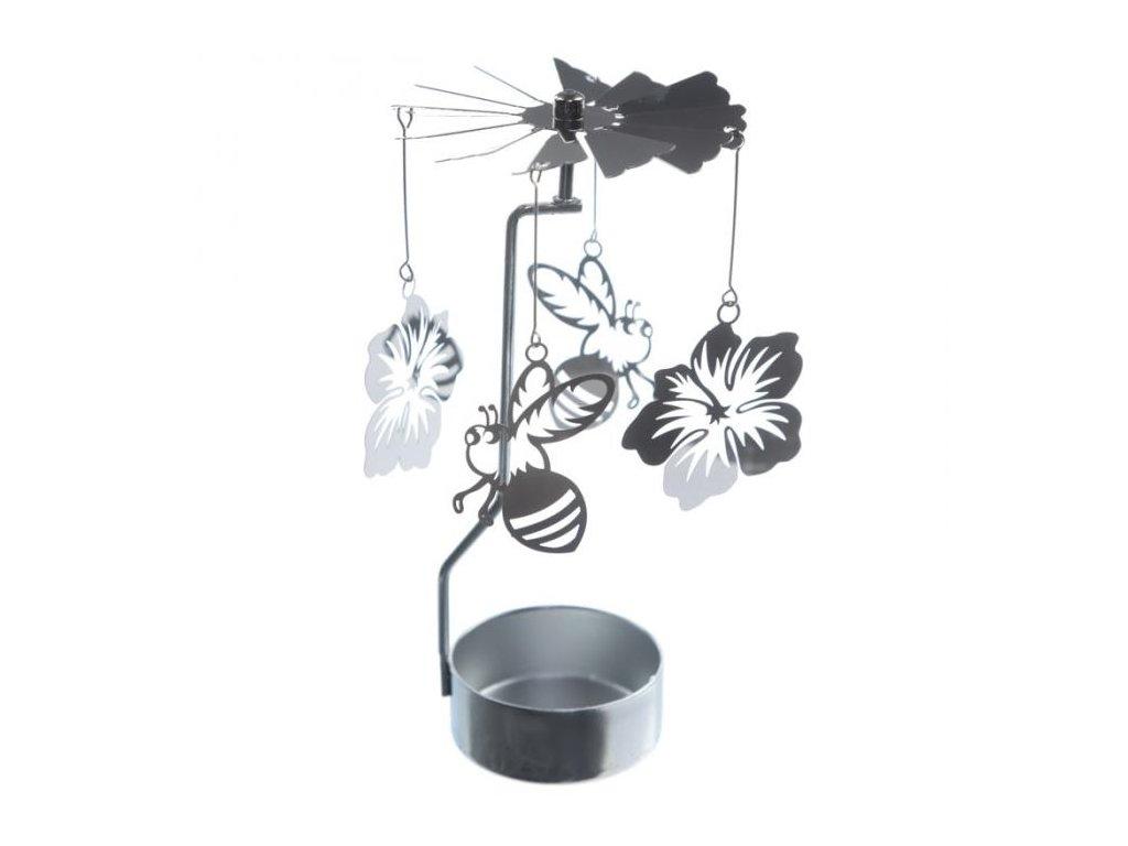 Kolotoč na čajovou svíčku Včelka