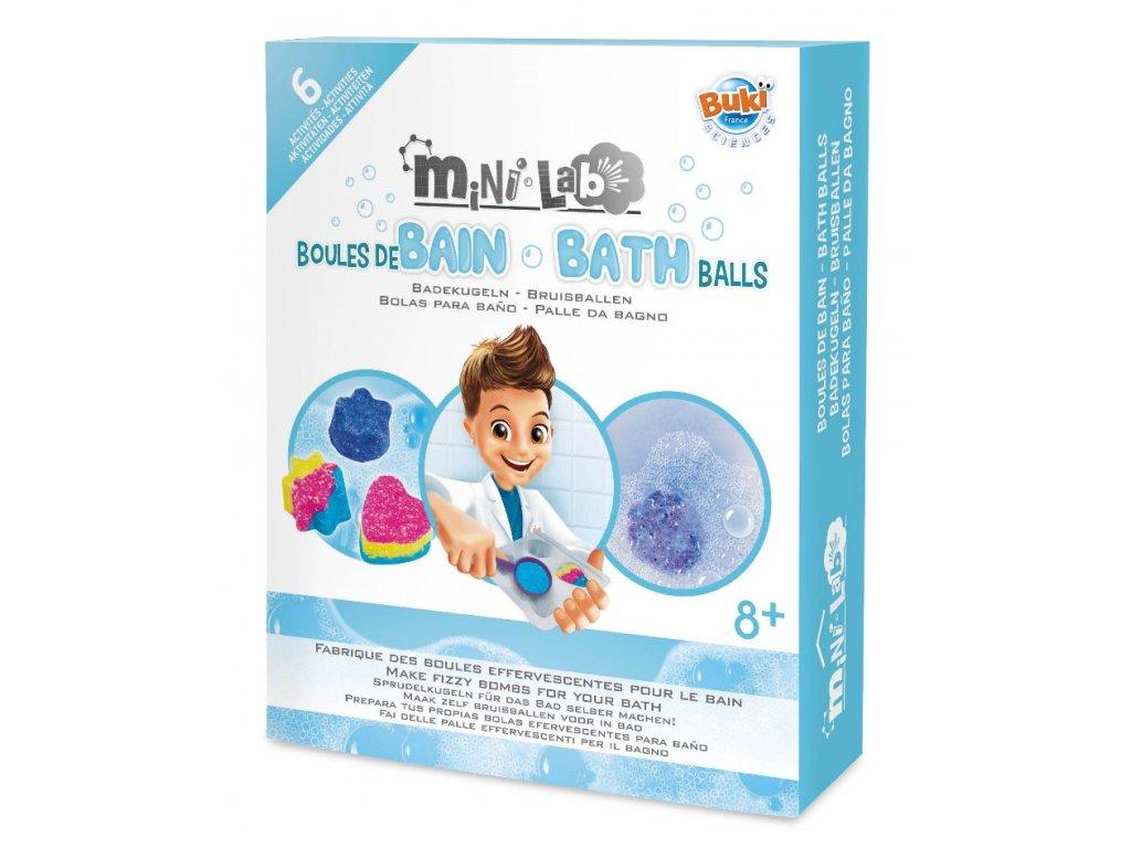 Výroba koupelových bomb miniLab